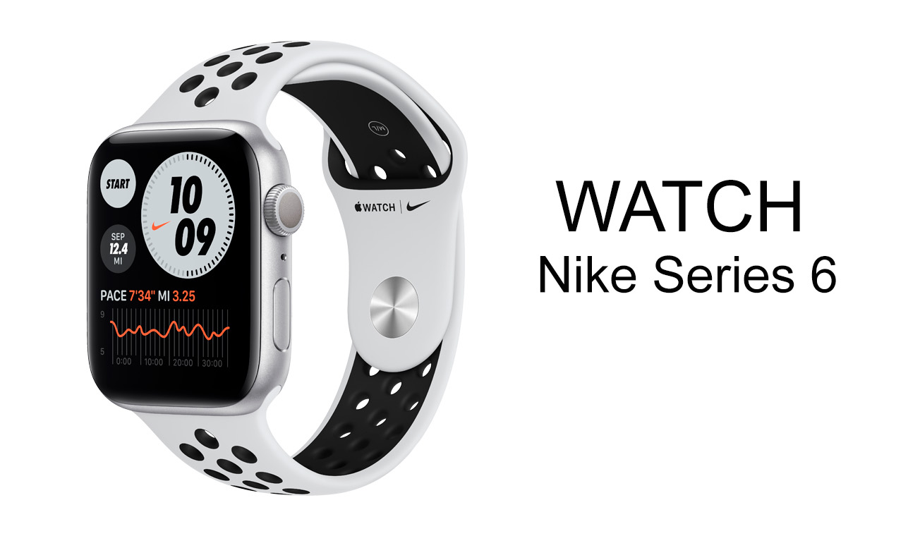 Apple Watch 6 Nike